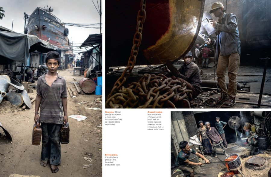 Dockyards in Dhaka, Bangladesh
